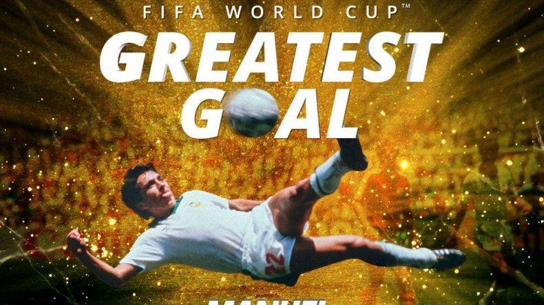 El gol del mexicano Negrete fue elegido como el mejor de los Mundiales