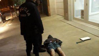 Robó una notebook y en la huida fue atrapado por la policía