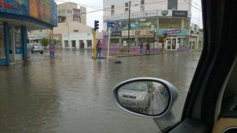 Provincia asistió a damnificados  por temporal en Río Gallegos
