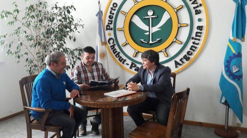 Los puertos de Comodoro, Santa Cruz y Caleta Paula acordaron una agenda común