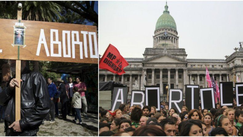 Histórico debate por el aborto con disputas en la calle
