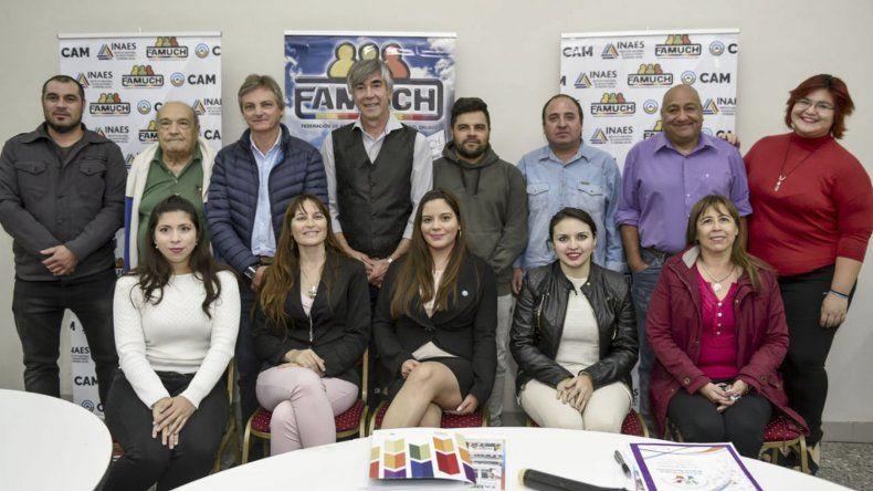 La Federación de Asociaciones Mutualistas del Chubut renovó sus autoridades y la vocal del Sindicato de Petroleros Jerárquicos