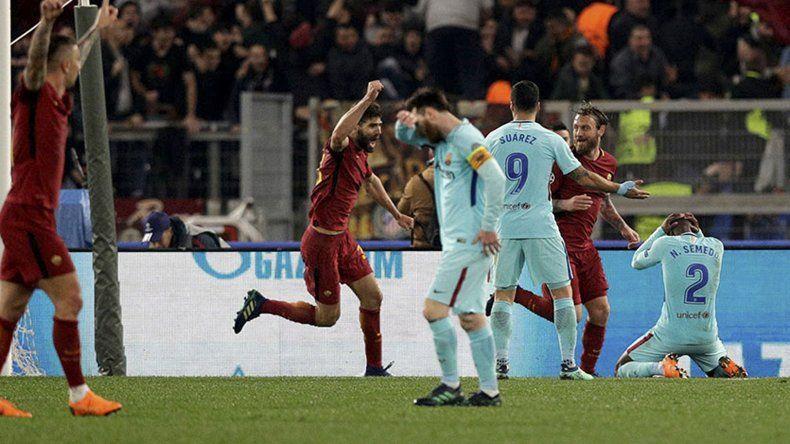 Roma logró el milagro y dejó sin semifinales al Barcelona del crack rosarino Lionel Messi.