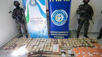 Operativo antidroga en Chubut y Río Negro: 14 personas detenidas