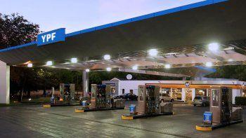 ypf aumento las naftas un 3% en todo el pais