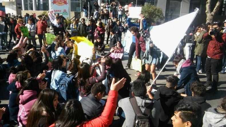 Más de 500 estudiantes se movilizaron