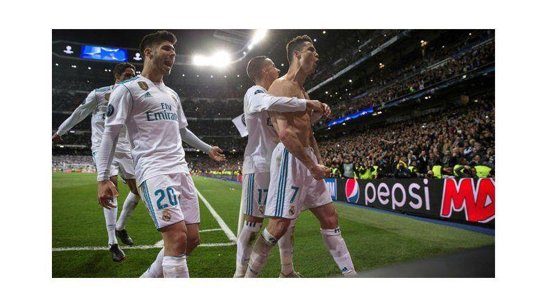 El desahogo de Cristiano Ronaldo y todo Real Madrid.