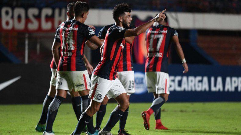 Gabriel Gudiño desteja su gol