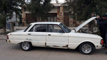 Secuestraron un Ford Falcon con el chasis adulterado