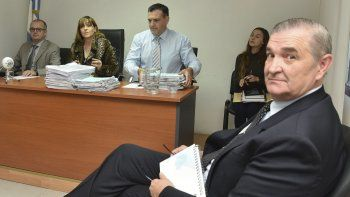 El almirante Marcelo Srur prestó ayer declaración testimonial por más de ocho horas ante la jueza federal de Caleta Olivia, Marta Yáñez.