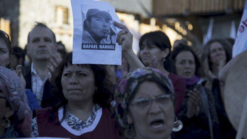 En Bariloche continúan reclamando justicia por la muerte de Rafael Nahuel.