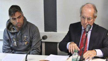 Federico Gatica junto a su abogado defensor.