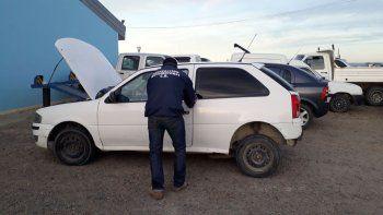 Secuestraron un Volkswagen Gol que tenía pedido de captura