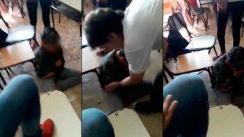 Brutal bullying contra un nene de 12 años