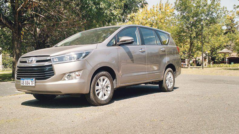 Las 10 claves de la Toyota Innova: Confort en ocho plazas