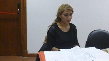 Rita Barrionuevo, funcionaria de Fiscalía.
