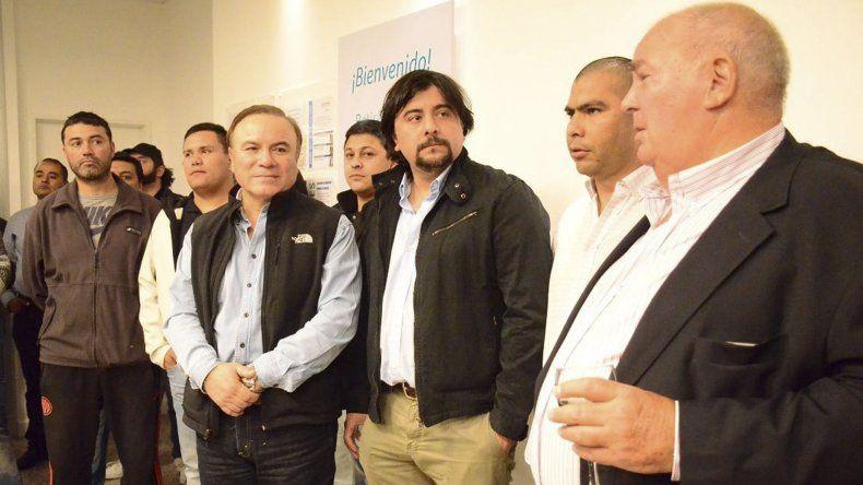 La inauguración de la nueva sede de la Obra Social de Petroleros tuvo lugar el jueves con la presencia de su gerente general y dirigentes del gremio.