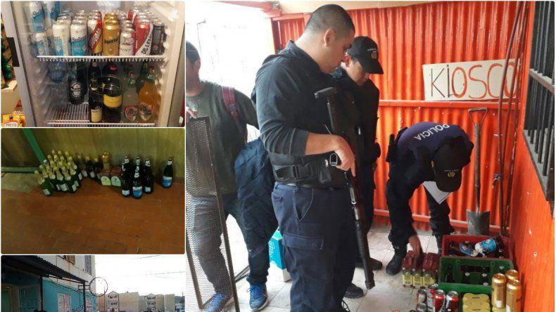 Secuestraron más de 200 litros de alcohol para venta clandestina