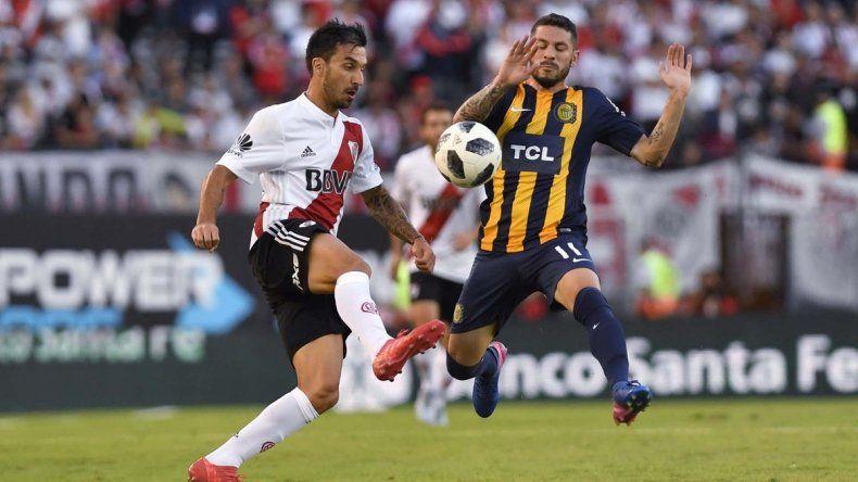 River venció a Rosario Central y sumó su quinta victoria consecutiva