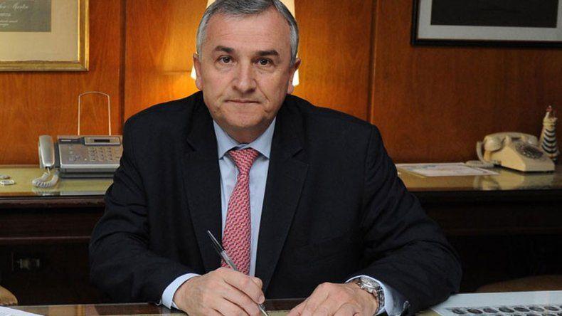 Gerardo Morales transfirió cinco millones de pesos a una consultora vinculada a Macri
