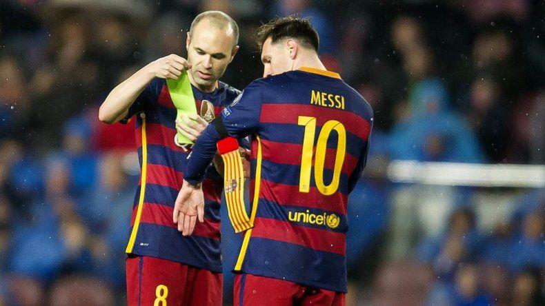 Andrés Iniesta está a un paso de irse del Barcelona