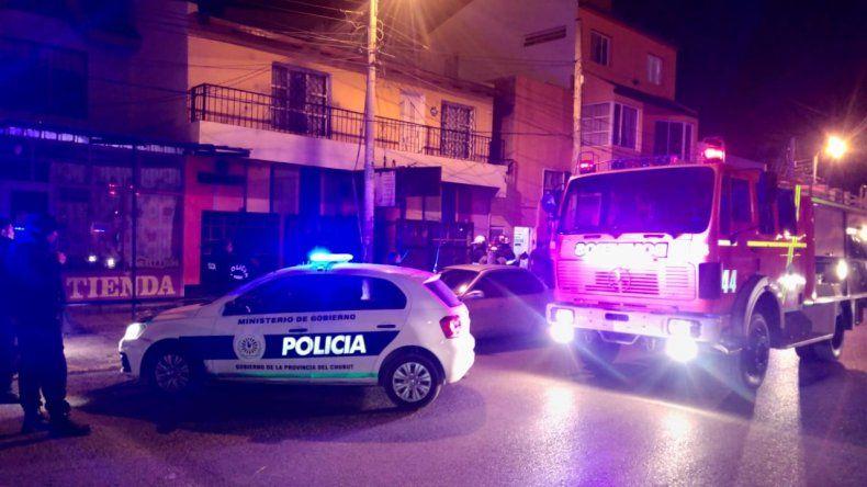 Fotos: Vía Whatsapp a El Patagónico.