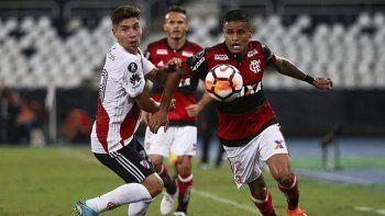 River viene de empatar con el líder Flamengo.