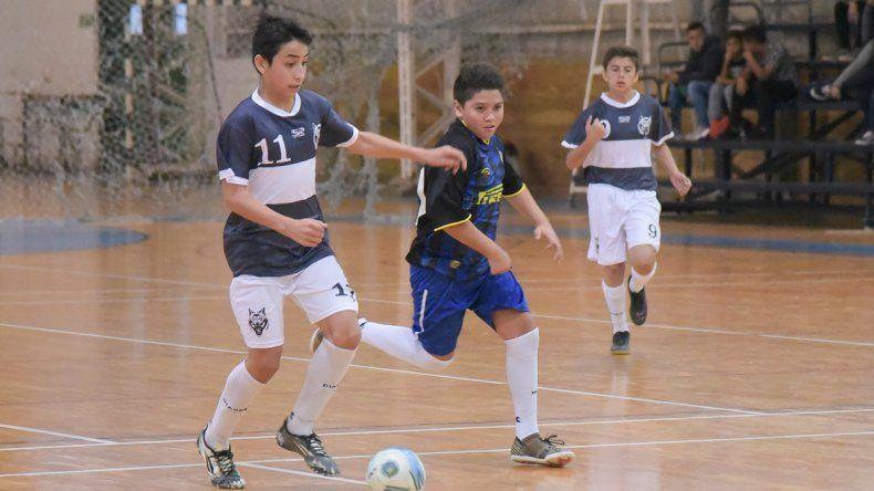 El futsal promocional tuvo acción el sábado y el domingo.