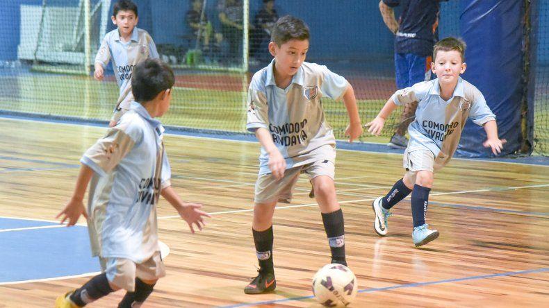 Los chicos tuvieron acción en el torneo de la CAI