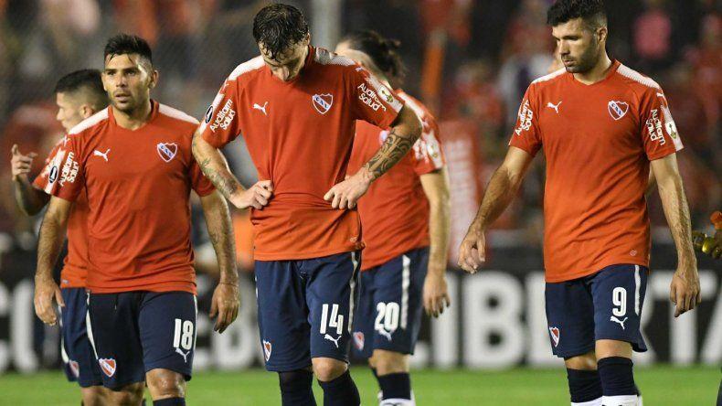 Independiente cayó ante Corinthians y complicó su clasificación