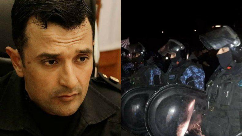 La policía denunciará a los estatales por agresiones con bastonazos