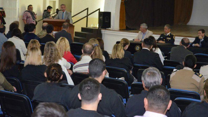 Arcioni inauguró las Jornadas de Actualización del  Programa Científico Federal en Comodoro Rivadavia