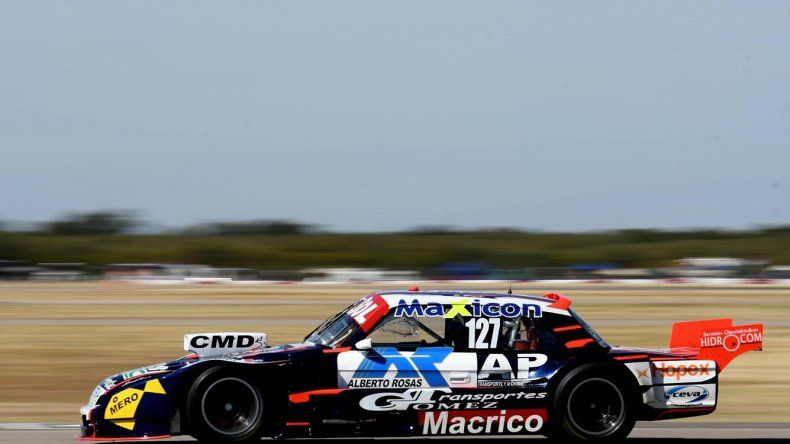 Marcelo Agrelo viene de hacer podio en las tres primeras finales de la temporada del TC Pista.