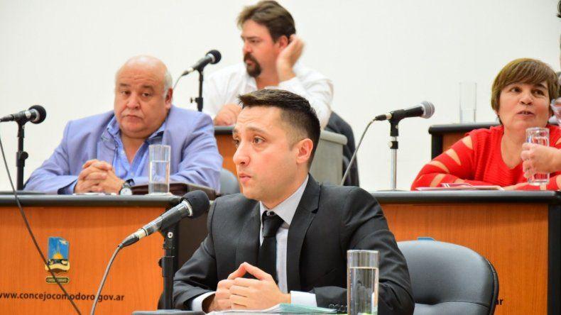 La sesión que se desarrolló ayer en el Concejo Deliberante.