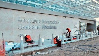 Arcioni y Dietrich inaugurarán este domingo la primera etapa del aeropuerto