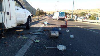 accidente en ruta 3 dejo un hombre herido