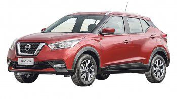 nissan kicks:version inicial del suv