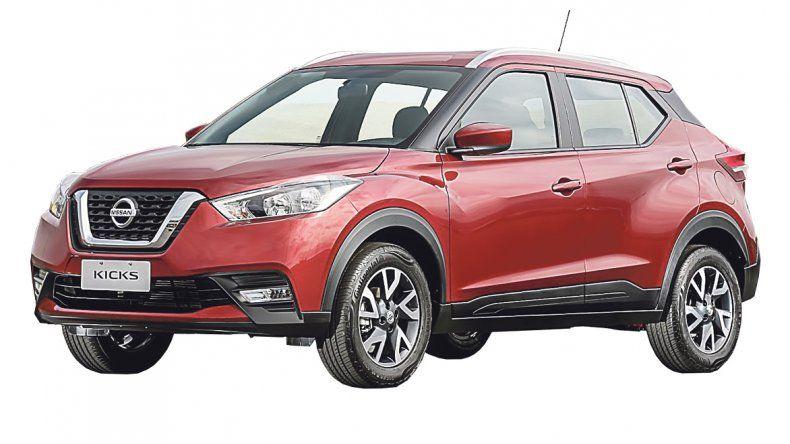 Nissan Kicks:Versión inicial del SUV