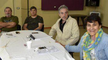 El plenario de secretarios generales de todas las filiales de ADOSAC se realizó en Caleta Olivia con la presencia del titular de la conducción central, Pedro Cormack.