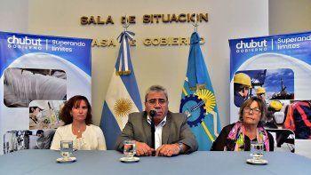 El ministro de Gobierno, Marcial Paz, encabezó el acto.