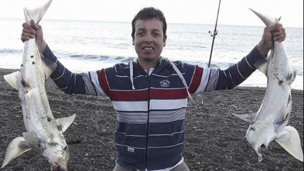 Gustavo Fozziano era un joven muy querido en el ambiente de los pescadores de Rocas Coloradas.