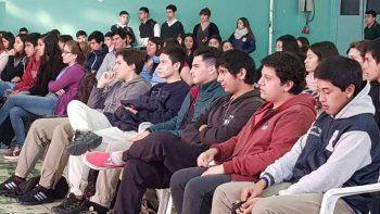 Este mes en Sarmiento se realizaron distintos talleres del Programa Adicciones.