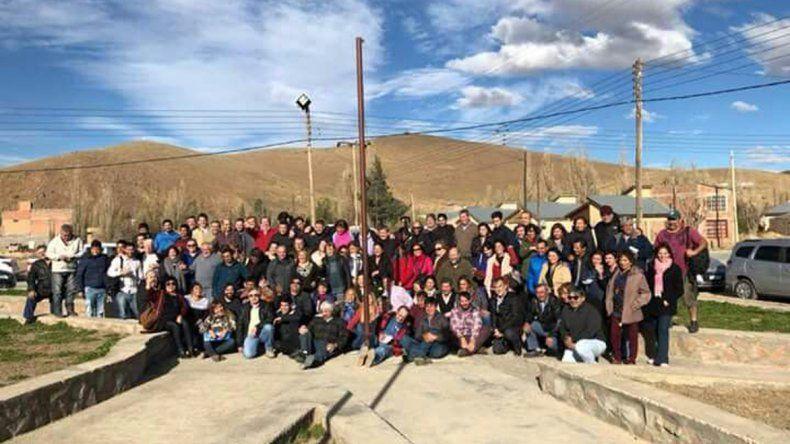 Un sector de la Unión Cívica Radical se reunió el sábado en Gobernador Costa.