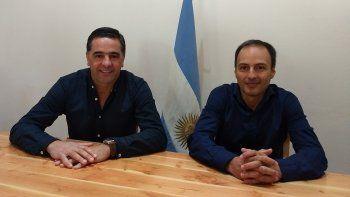 Alonso presentó al nuevo subsecretario de Bosques