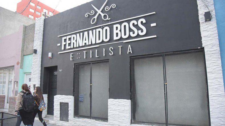 Una bala rozó la cabeza del estilista Fernando Boss durante un robo ocurrido en la madrugada de ayer.