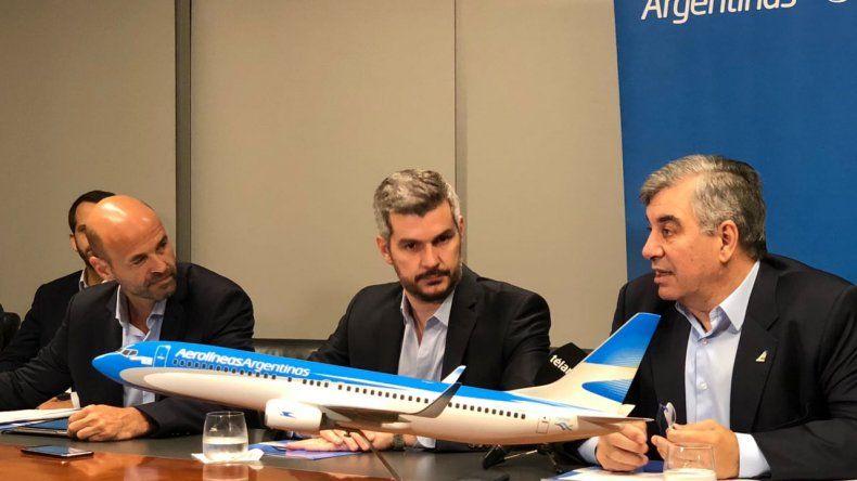 Aerolíneas Argentinas elimina la clase ejecutiva para competir con las low cost