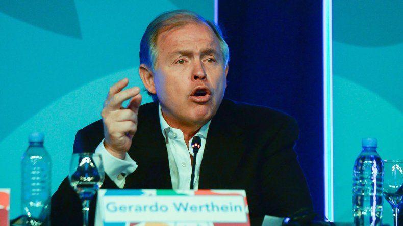 Gerardo Werthein es el presidente del Comité Olímpico Argentino y del Comité Organizador de los Juegos Olímpicos de la Juventud.