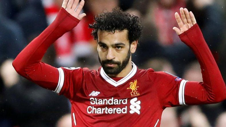El egipcio Mohamad Salah le marcó dos goles a la Roma pero no los gritó por su pasado en el club italiano.