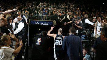 san antonio eliminado de los playoffs: ¿ginobili jugo su ultimo partido?