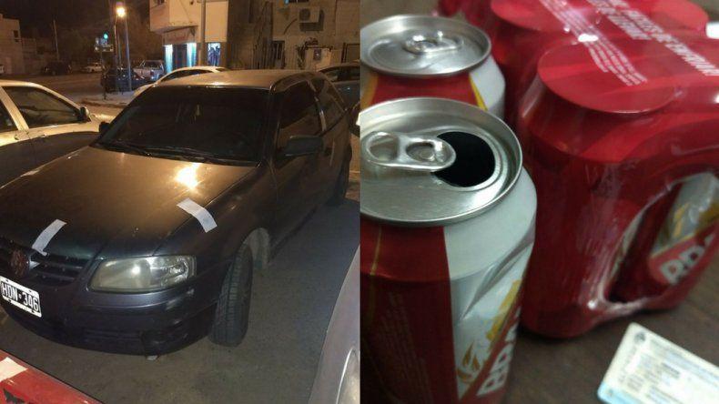 Le secuestraron el auto por manejar con 2,08 grados de alcohol en sangre